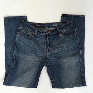 J Crew Broken in Boyfriend jeans- size 27- EUC